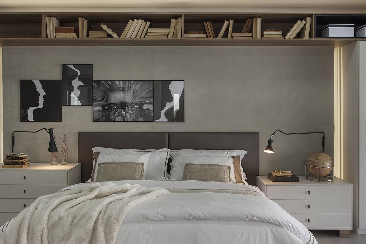 decoração quarto de casal, moveis planejados exclusivos, closet, mariana haja arquietura